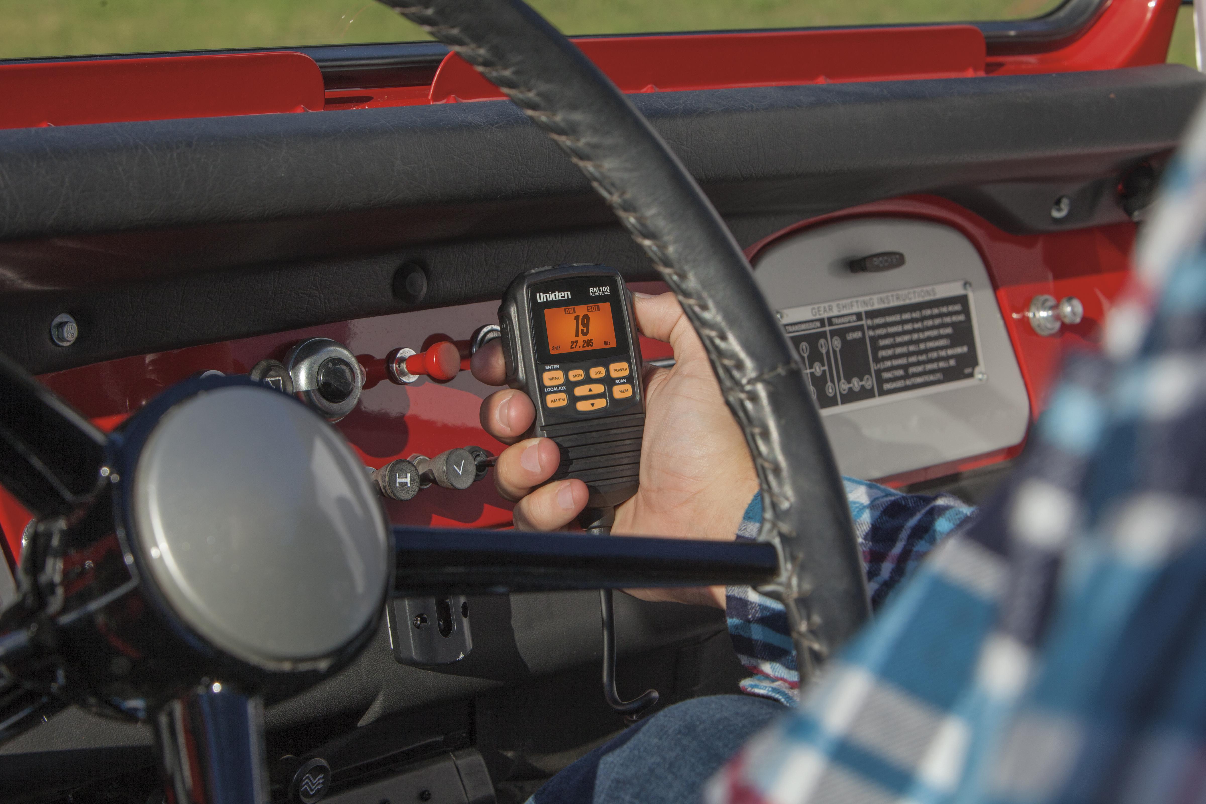 uniden rm770 remote mic manual